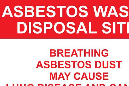 En asbestsanering kan behövas av många olika typer av material